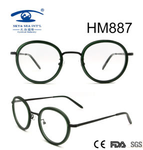 New Arrival Vintage Round Rim Acetate Eyeglasses (HM887) pictures & photos
