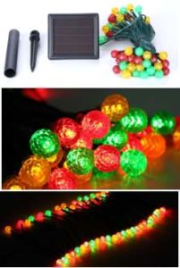 Solar 12PCS Colourful String Light pictures & photos