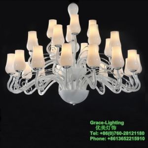 High Quality Chandelier Modern Pendant Lamp for Decoration Villa (GD-1101-24) pictures & photos