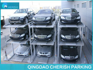 3 Level Stacker Pit Parking System Car Lift pictures & photos