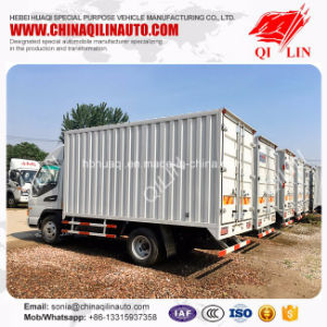 Box Shape 5 Ton Truck for Bulk Cargo Transport pictures & photos