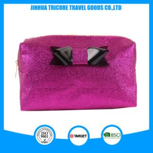 Latest Design Shiny PU Cosmetic Bag pictures & photos