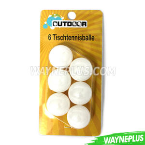 Wholesale PP Table Tennis Ball - Wayneplus pictures & photos