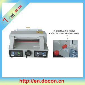 DC-330 Desktop Electric Paper Cutter