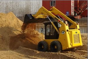 Best Wheel Skid Steer Loader with Planer Ws85 Skid Steer Loader