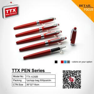 Elegant Red Roller Pen, Brand Pen