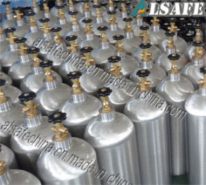 0.5lto 50L Seamless Aluminum CO2 Gas Cylinder Pressure pictures & photos