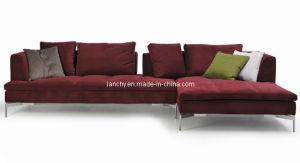 Modern Corner Sofa with Chaise/Fabric Sofa (SF-XB325C)