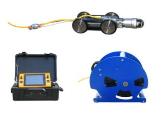 Industry Pipeline Crawler for Sewer Inspection with 120m Testing Cable