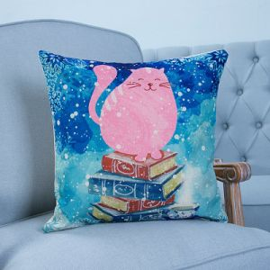 Digital Print Decorative Cushion/Pillow with Animals Pattern (MX-15) pictures & photos