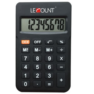 Portable 8 Digits Battery Power Mini Handheld Office Calculator (LC396)
