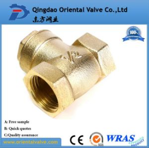 "1-1/4"" Inch Durable Professional Low Price Brass Spring Check Valve Brass High Quality pictures & photos"