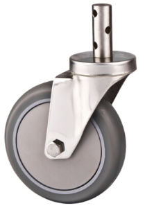 Stem Trolley Medium Duty Caster, 100mmstainless Steel Caster pictures & photos