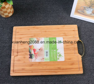 FDA LFGB Certificate 100% Food Grade Bamboo Chopping Board pictures & photos