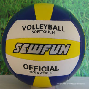 Customized Colors and Logo Patterns PVC Volleyball pictures & photos
