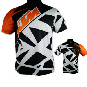 Short Sleeve T-Shirt Sublimation Motocross Racing Jersey (ASH01) pictures & photos