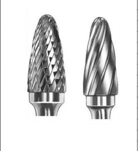 Carbide Burrs Type F Arc Ball Nose F1225 pictures & photos