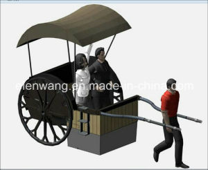 Three Wheeled Rickshaw Tricycle for Hotel Show pictures & photos
