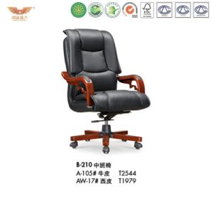 Office Wooden Executive Chair (B-210) pictures & photos