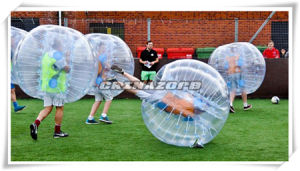 Authentic Quality PVC/TPU Inflatable Soccer Bubble Football for Team Sports pictures & photos