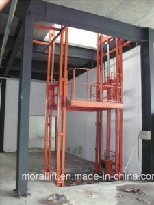 Industrial Cargo Use Hydraulic Freight Electric Vertical Lift pictures & photos