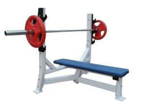 Fitness Equipment / Gym Machine / Hammer Equipment / Olympic Flat Bench (SH32) pictures & photos
