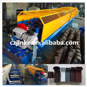 Spiral Tube Former Machine Down Pipe Forming Machine pictures & photos