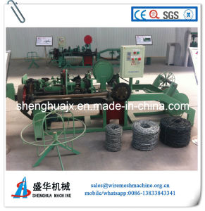 Automatic Double Twist Barbed Wire Machine (SH-N) pictures & photos