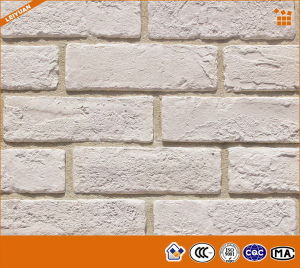 White Color Rustic Porcelain Wall Bricks