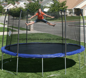 12FT Round Trampoline with Safety Enclosure for Ages 6 and up Playing pictures & photos