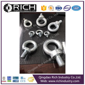 Galvanized Iron DIN580 Lifting Eye Bolt in Rigging Hardware/Grab Hook/Rigging pictures & photos