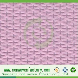 Cross Design PP Nonwoven Cambrella Fabric pictures & photos