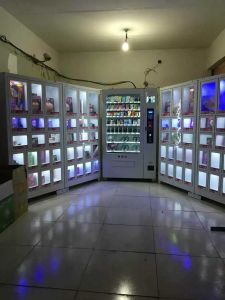 Non-Refrigeration  Sexy Toy Vending Machine S800-10+27s+40s pictures & photos