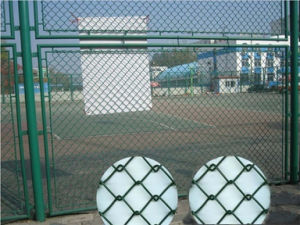PVC Chain Link Wire Fence pictures & photos