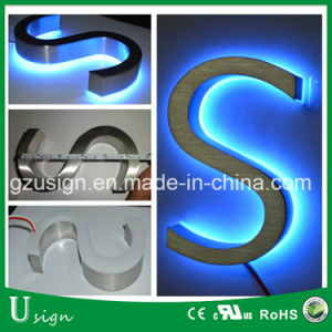 Outdoor Used 12V LED Backlit Letter Sign with Acrylic Backing pictures & photos