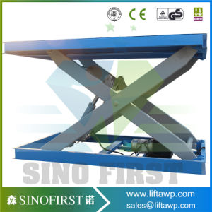 High Lift Stationary Cargo Lift Double Scissor Lift pictures & photos