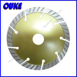 Cold Pressed Diamond Turbo Segment Saw Blade pictures & photos