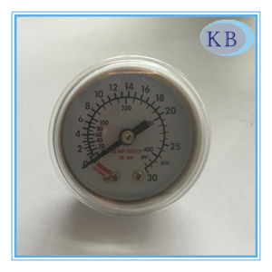 30ATM Medical Fluorescent Plastic Pressure Gauge Dia. 40mm pictures & photos