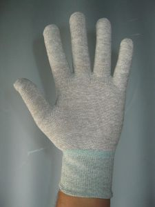 ESD / Antistatic Conductive Knit Glove (3W-9517) pictures & photos