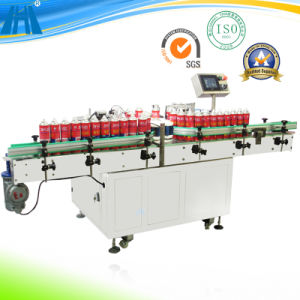 Chain Lube Cleaner Cycle Chain Oil Sprayer/Can Labeling Machine (T500) pictures & photos