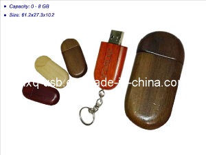 Wooden USB Memory (HXQ-WD007)