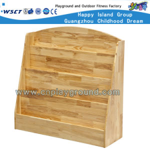 Small Children Wooden Bookshelf on Stock (HC-4306C) pictures & photos