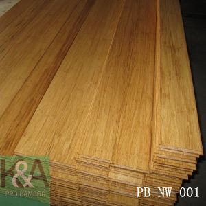 Natural Strand Woven Bamboo Flooring (T&G) A Grade Indoor Bamboo Flooring
