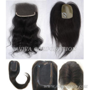 Human Hair Lace Front Closure (AV-HC010) pictures & photos