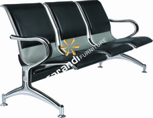 PU Cushion Metal Airport Chair (Rd 820A)