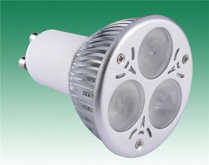 Ce RoHS Approved High Power LED Ceiling Lamp GU10 6W (DL-GU10-3*2W-2)