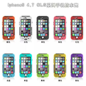 Transparent Waterproof Case for iPhone 6 4.7 Inch
