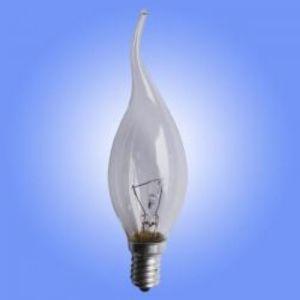 C35 Tailed Bulb Clear E14 15-60W 220V