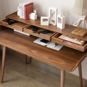 Classical Wooden Computer Desk in Study Room pictures & photos