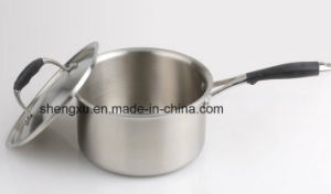 18/10 Stainless Steel Cookware Chinese Milk Pan (SX-S16-2) pictures & photos